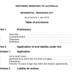 Residential Tenancies ACT 2018 NT, RentEzy