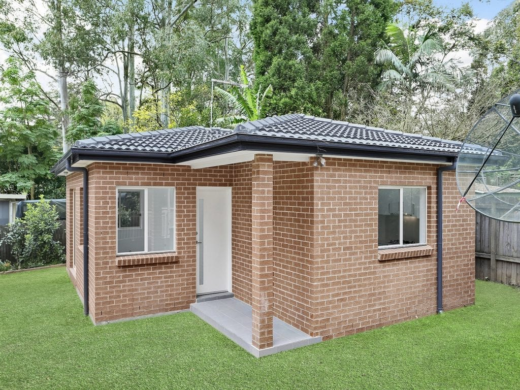 Entrance, granny flat for rent, West Pennant Hills, Sydney