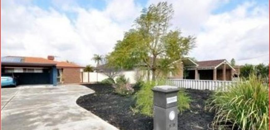 Willetton WSHS zone 3×1 fully furnished semi-detached house