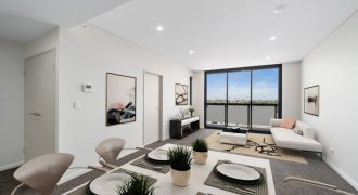 Burwood stunning apartment with city views