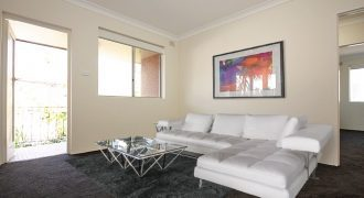 Belmore renovated 2 bed unit with car space