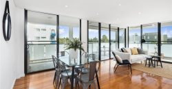 Mortlake apartment with entertainers balcony