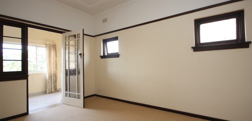 Summer Hill spacious 1 bed unit
