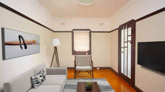 Ashfield NSW one bed art deco unit for rent