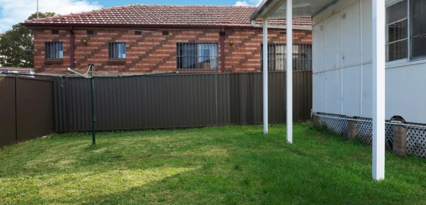 House for Rent – Available Now – 50 Carnation Ave Bankstown