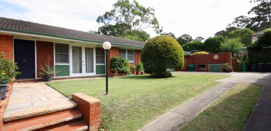 Pet friendly rental house West Pennant Hills NSW