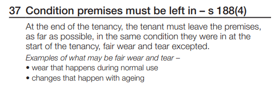 Clause 37 Tenancy Agreement QLD