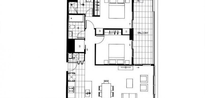 Two-bedrooms in Botany
