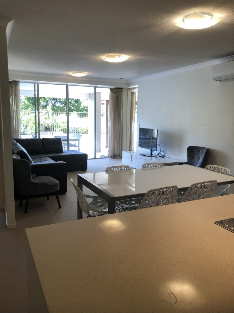 Furnished 2 Bedroom with Office Apartment