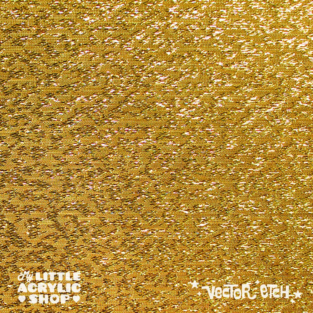Gold Fabric Specialty Acrylic