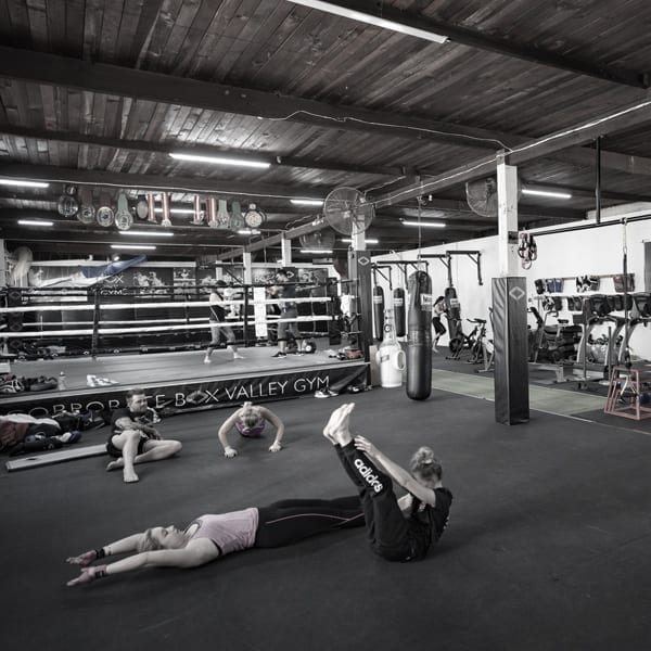 corporate box gym classes weights 011