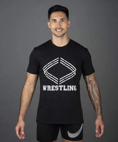corporate box wrestling t shirt adults