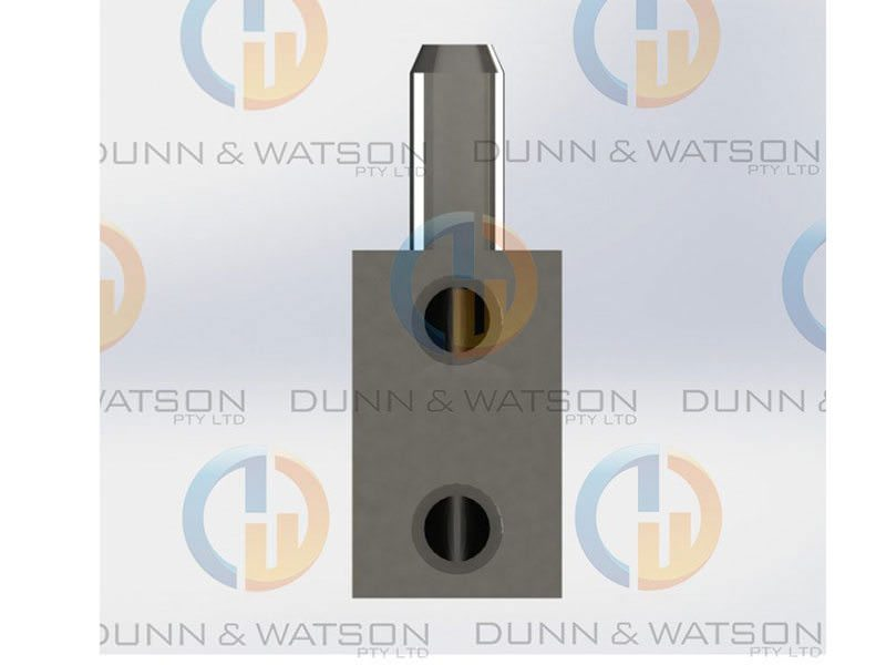 Stepped Pintle Hinge 40mm 3