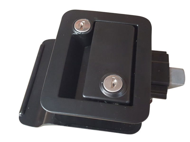 Trailer Door Lock Black2