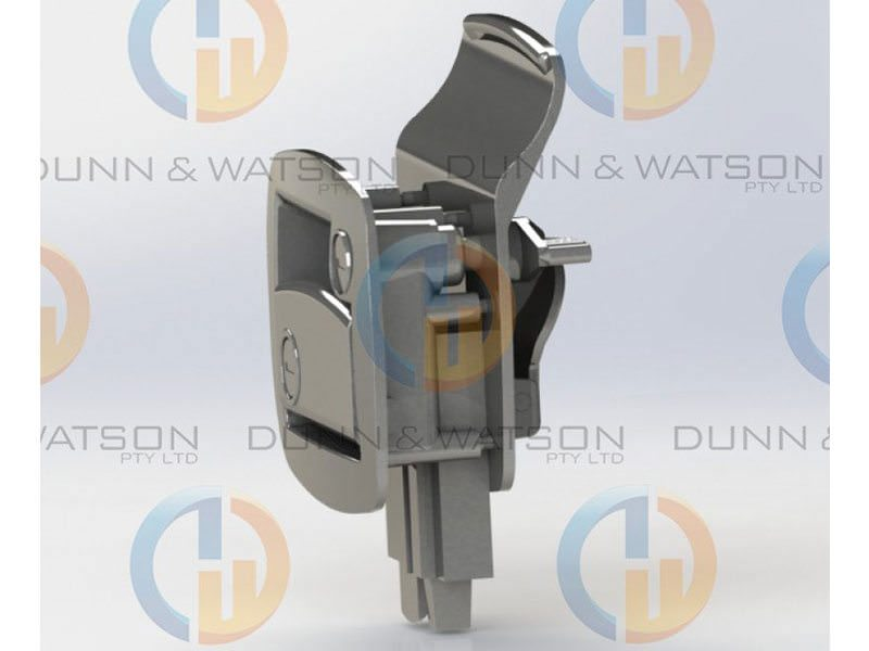 Trailer Door Lock White 7 copy 2