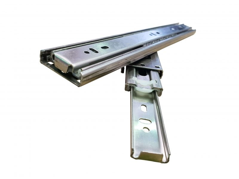45KG Stabdard Drawer Slides Stainless Steel