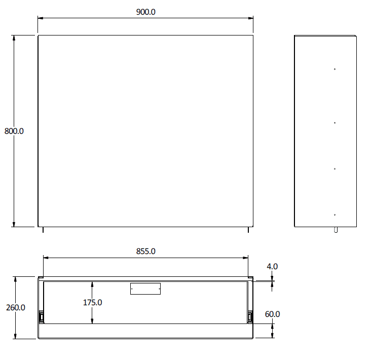 Canopy cargo drawer large cad