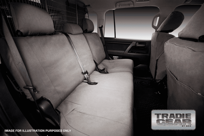 msaa tradie seat cover rear